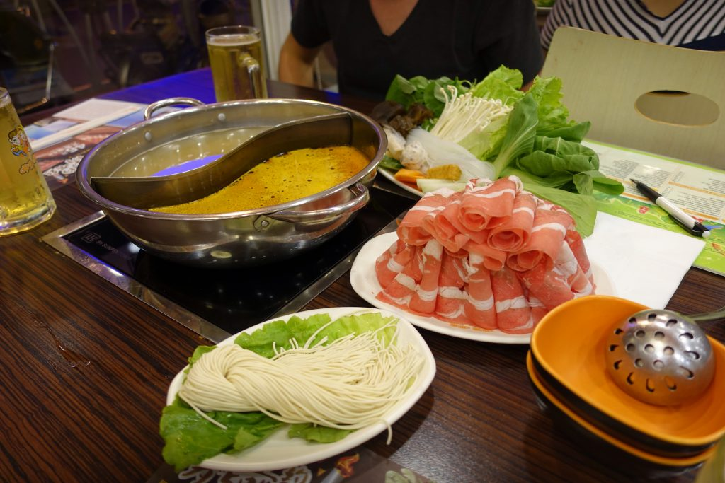 Picture of Chinese Hotpot meal