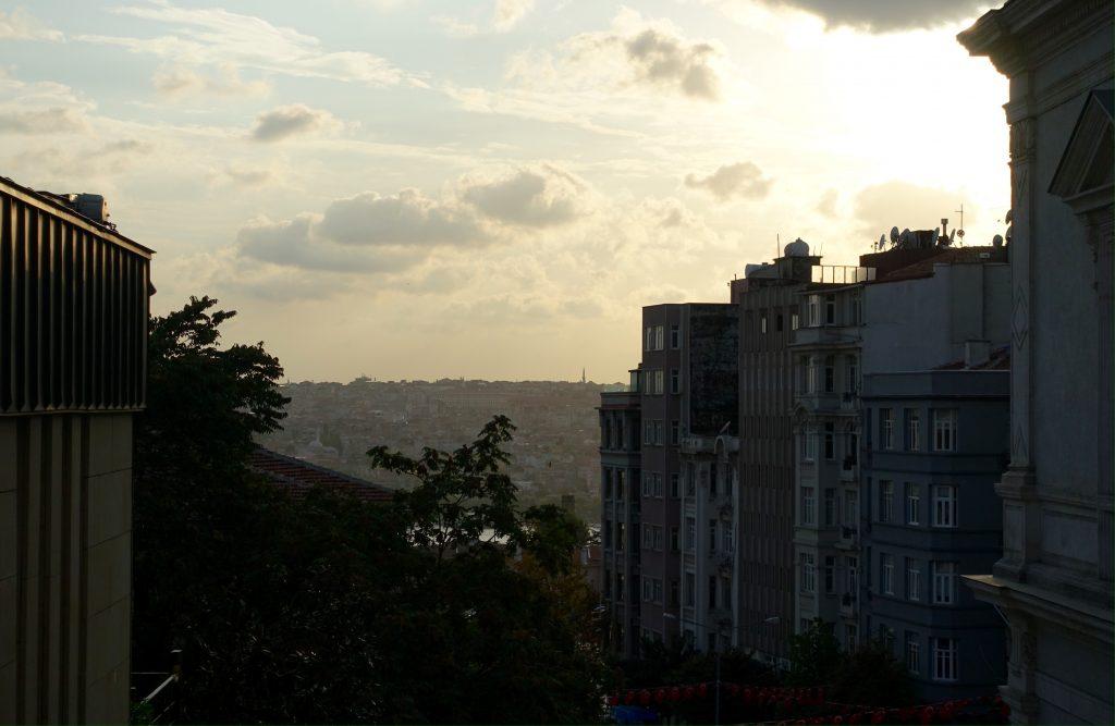 Sunrise in Istanbul