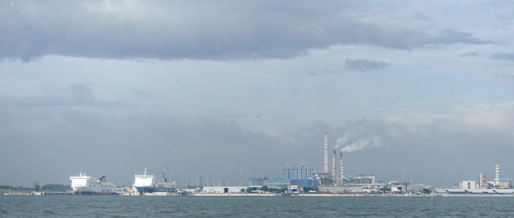 Venice industrial zone