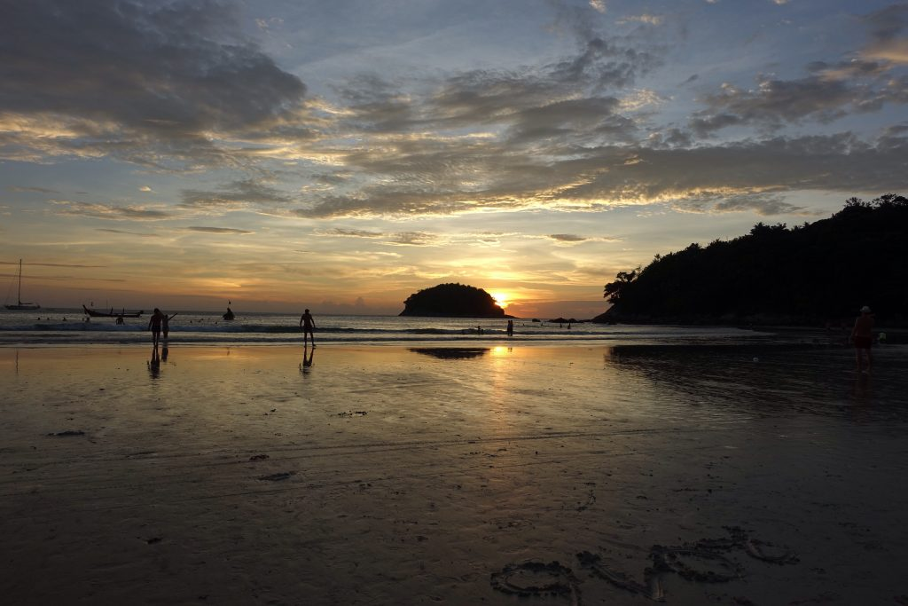 Sunset at Kata Beach
