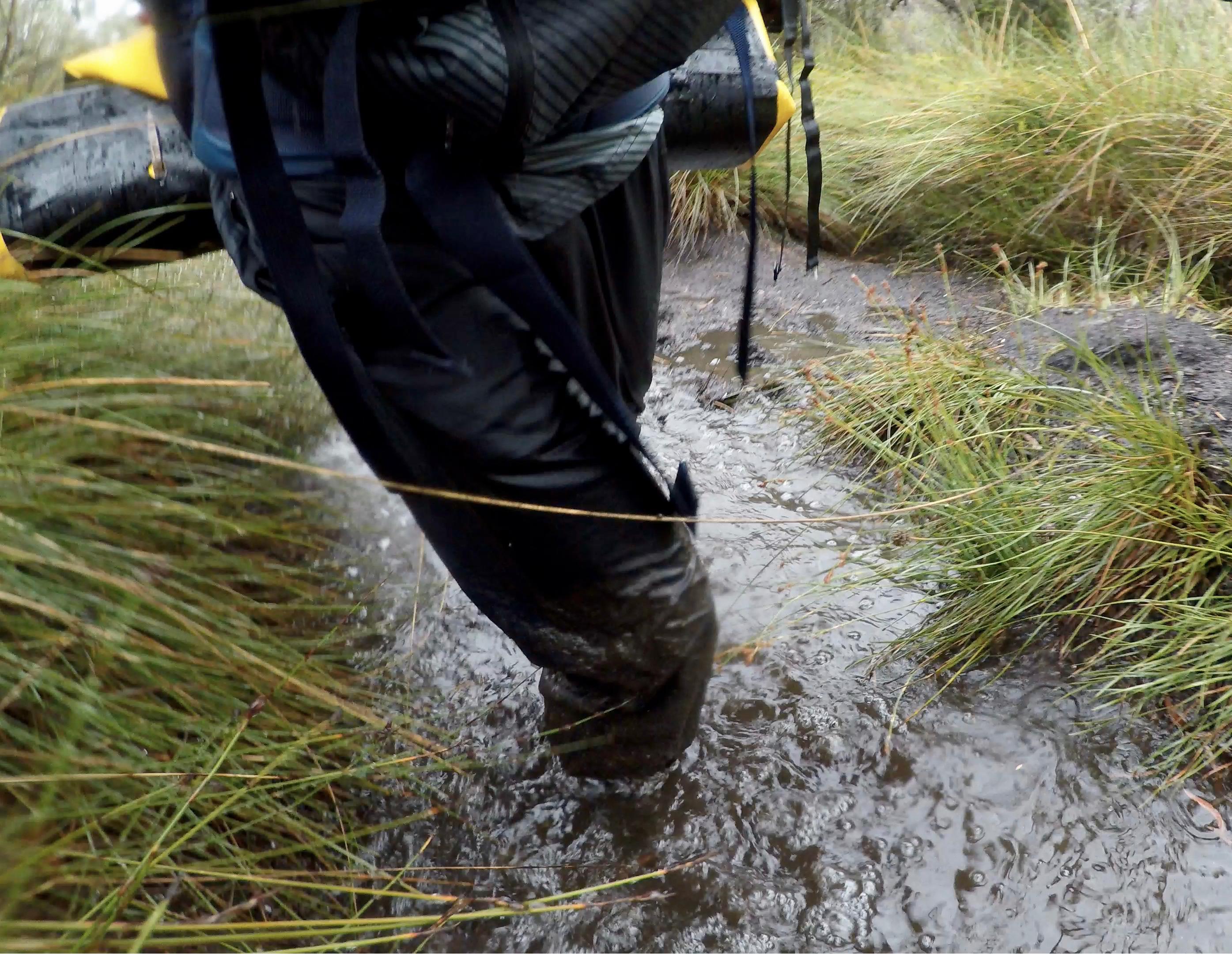 knee deep mud image